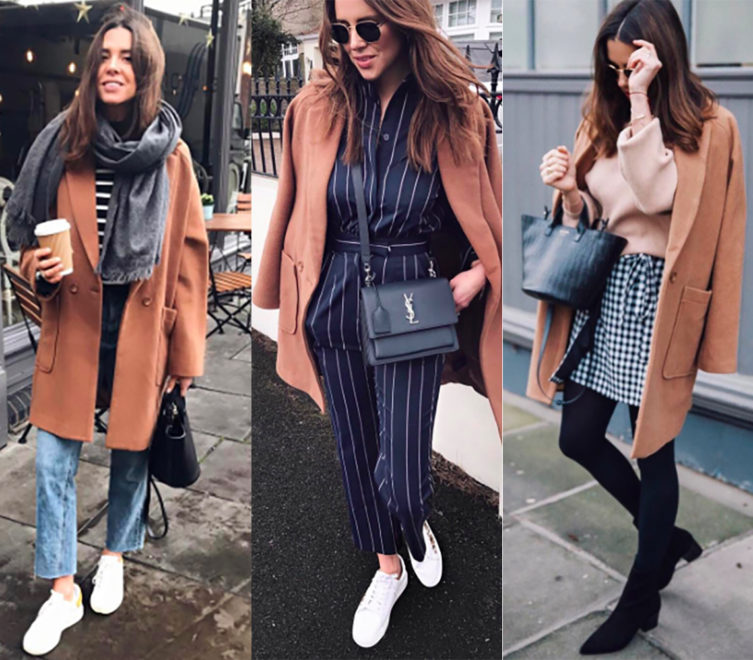 Blogger Anneli Bush can't get enough of our camel coat