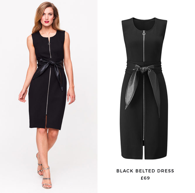 Going sleeve-free gives the classic LBD a spring overhaul
