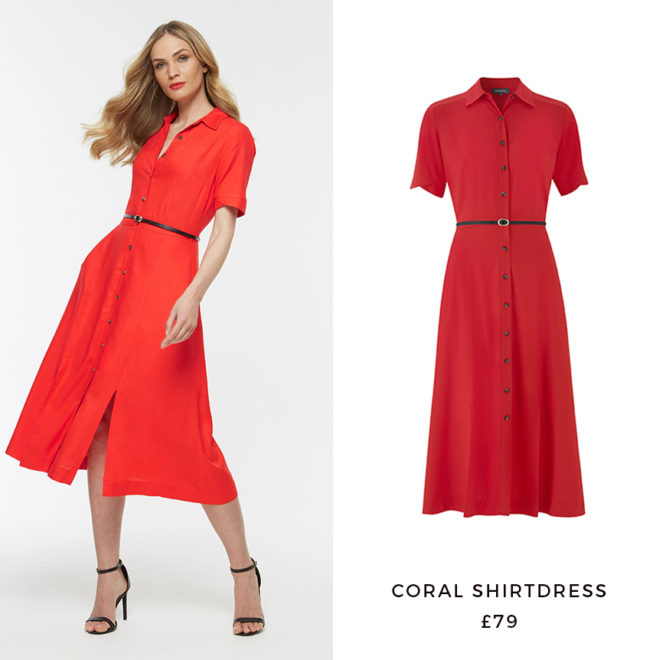 Coral Shirtdress, £79