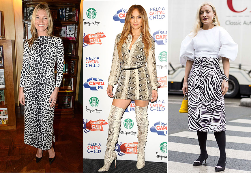 Celebrities In Animal Prints